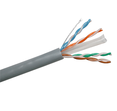 rit cat6 utp pvc cable (reel of 305 mtrs)