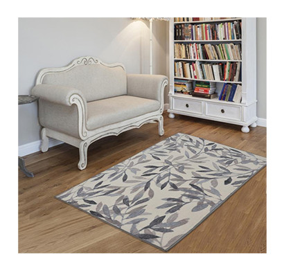 Rugsmith (RS000009) Brown Multi Color Premium Qualty FLORAL Pattern Polyamide Nylon BIRCH RUG Area Rug