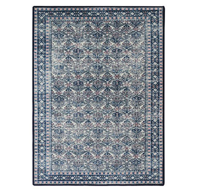 Rugsmith (RS000230) PINK BLUE MULTI Color Premium Qualty CLASSICAL Pattern Polyamide Nylon ANCESTRAL RUG Area Rug