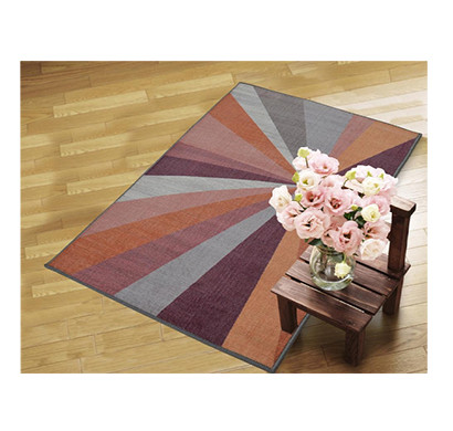 rugsmith (rs000044) rugs & carpets cool multi color premium qualty geometrical pattern polyamide nylon kaleidoscope rug area rug