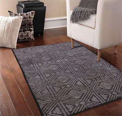 rugsmith (rs000221) grey color premium qualty classical pattern polyamide nylon jakarta rug area rug