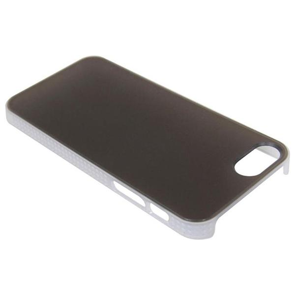 Royce- Premium Synthlic Leather Hardshell Case for iPhone 5 (Navy)