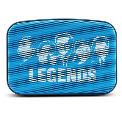 saregama carvaan mini legends (250 songs) scm01 bluetooth speakers (aqua blue)