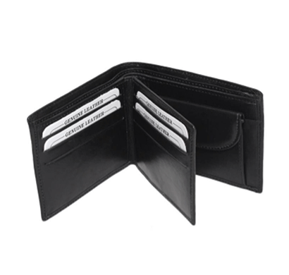 saw 016 leather wallet black