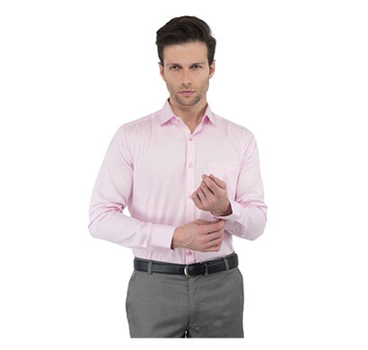 Shaurya Size-42 Full Men Solid Formal Shirt