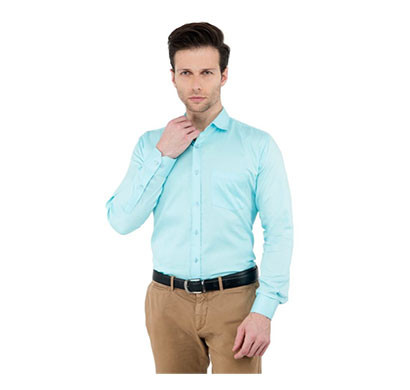 Shaurya-F Size-38 Men's Solid Party Shirt