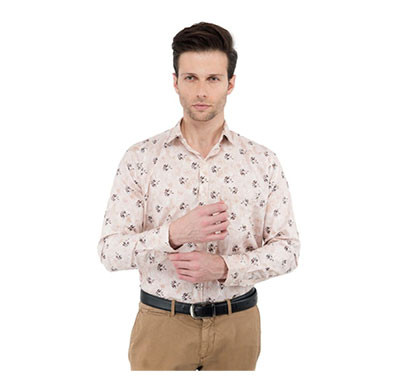 shaurya-f men's (size-40) solid partywear shirt