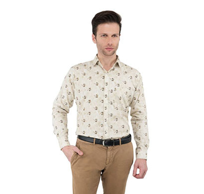 shaurya-f solid men's size-38 party shirt