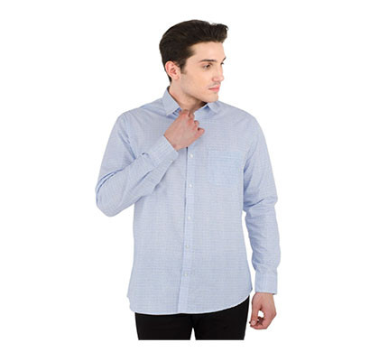 shaurya-f solid casual shirt for men