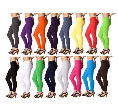 Shio Women's Lycra Leggings (Multicolor)