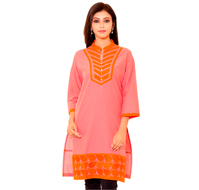 SML Originals- SML_3004, Beautiful Stylish 100% Cotton Kurti, L Size, Red