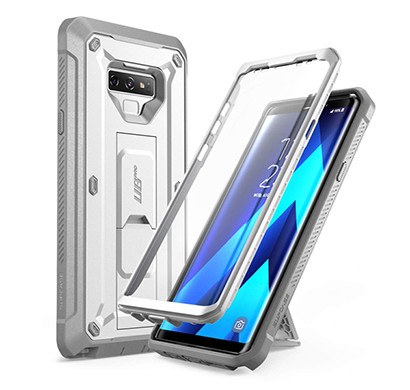 Supcase (B07G7YCWPS) Unicorn Beetle Pro Series Design for Samsung Galaxy Note 9 Case, with Built-in Screen Protector & Kickstand Full-Body Rugged Holster Case for Galaxy Note 9 (2018 Release) (White)