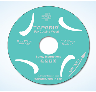 TAPARIA - TCTS 540, TCT Wood Cutting Blade