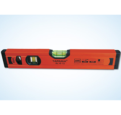 taparia - slm 1012, spirit level (1.0mm accuracy, with magnet)