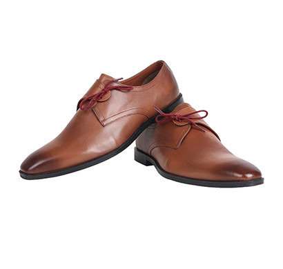 the leather box (9079) calf leather dual tone tan the charismatic tan lace ups mens shoes