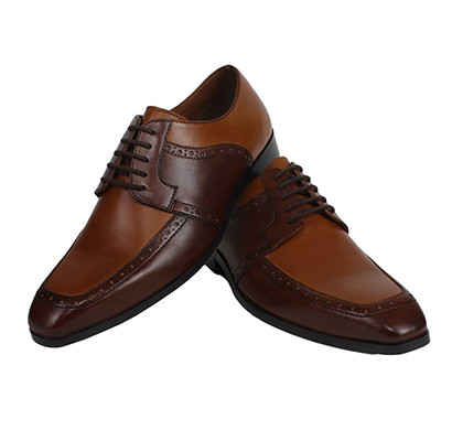 the leather box the rustic double brown derby calf leather mens shoes
