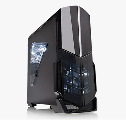 thermaltake (ca-1d9-00m1wn-00 versa n21) window mid-tower gaming computer case (black)
