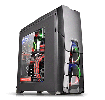 thermaltake (ca-1g2-00m1wn-00 versa n25) atx window mid-tower cases (black)