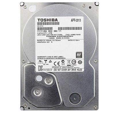 TOSHIBA (DT01ABA100V) 1TB Surveillance Storage Silver Hard Drive