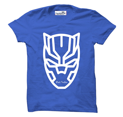 trendzwing tw004 black panther t-shirt royal blue