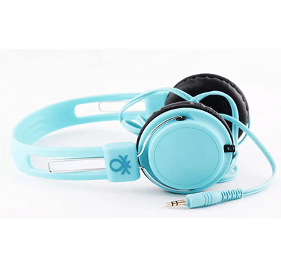 United Colors of Benetton HeadPhone Use Your Head Turqoise 901
