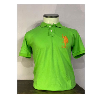 US Polo Half Sleeve Collar T-Shirt