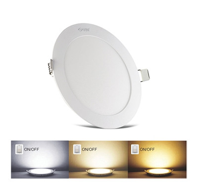 vin luminext rhm 12/ led panel lights/ 3 colours in one light ( ww / nw / w )/ 2 years warranty
