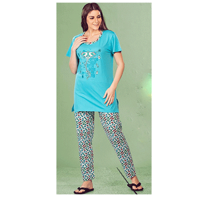 Vinson C25190 Long Pajama Set H/S Assorted Combo (Pack 6)