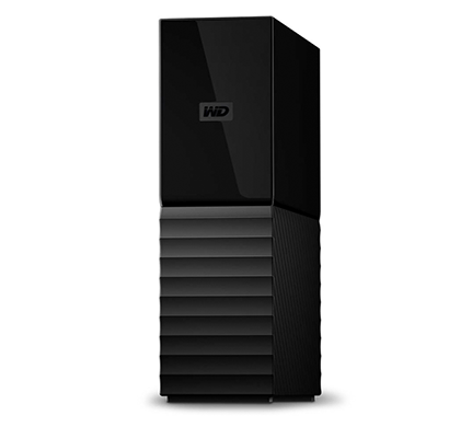 wd 8tb my book desktop external hard drive - usb 3.0 black