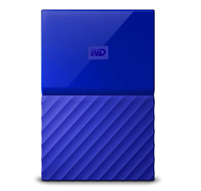 WD My Passport 4TB Portable External Hard Drive(Mix)