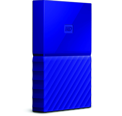 wd my passport 4tb usb 3.0 portable external hard drive (blue)