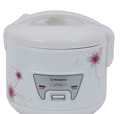westinghouse - rc15w2p-cm, electric rice cooker, 1.5 l, white, 1 year warranty