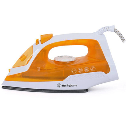 Westinghouse- NT14O123P-CS, Steam Iron, Orange, 1 Year Warranty