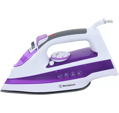 Westinghouse - NT18B124P-CS Steam Iron, Purple, 1 Year Warranty