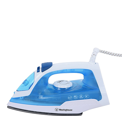 Westinghouse - NT14B123P-CS, Steam Iron, Blue, 1 Year Warranty