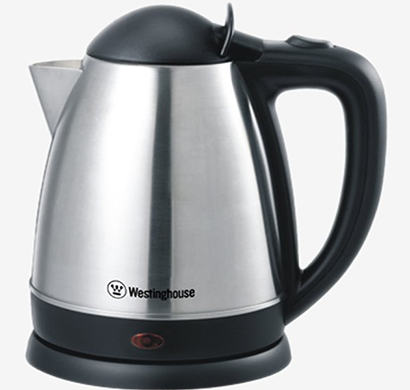 Westinghouse - KS18KSM-CG, 1.8 Liters, 1800 Watts, Metal Electric Kettle, Silver, 1 Year Warranty