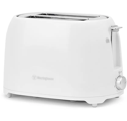 westinghouse - t02wpp-ct, 750 w, pop up toaster txt044, white, 1 year warranty