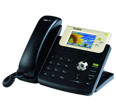 Yealink SIP-T32G, Landline IP Phone with Color Display