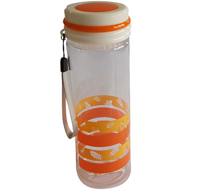 zannuo water bottle with strainer (orange)