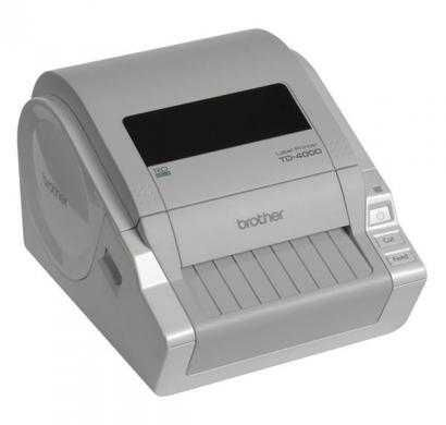 brother td-4000 label printer