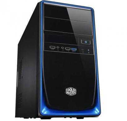 cooler master elite 344 cpu cabinet (blue)