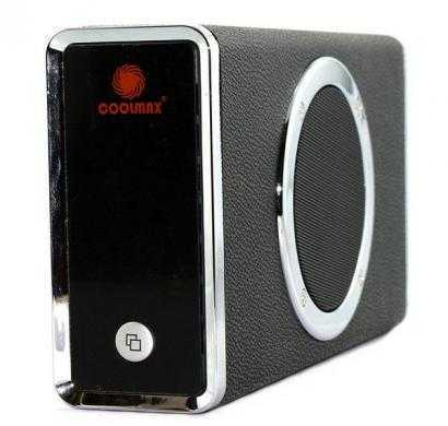 coolmax leather 3.5 inch hdd enclosure with cooling fan