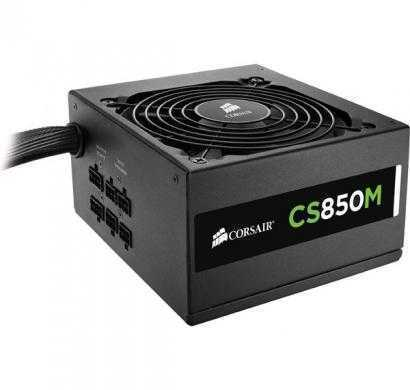 corsair cs series, cs850m, 850 watt (850w), semi modular power supply, 80+ gold certified