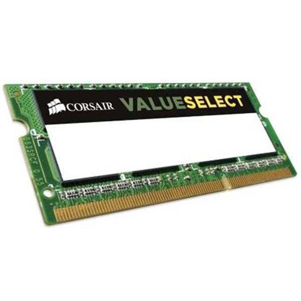 Corsair DDR3 8 GB (1 x 8 GB) Laptop RAM (CMSO8GX3M1C1600C11)
