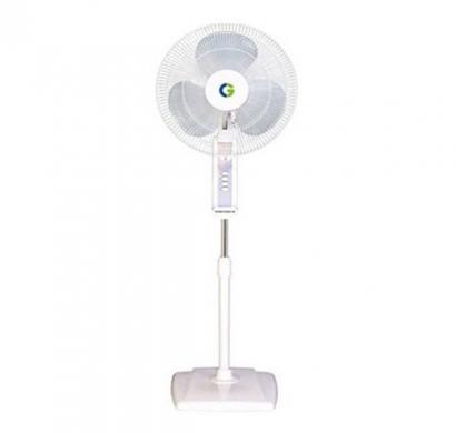 Crompton High Flo Wave 3 Blade (400 mm) Pedestal Fan (White)