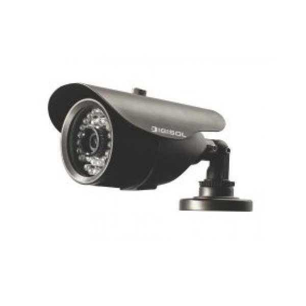 Digisol DG-CC3641 Weatherproof Bullet Camera with IR LED and 6 mm Fixed Lens, CMOS, PAL / NTSC, 600T