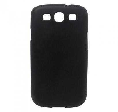 digital essentials samsung galaxy s3 back case - black