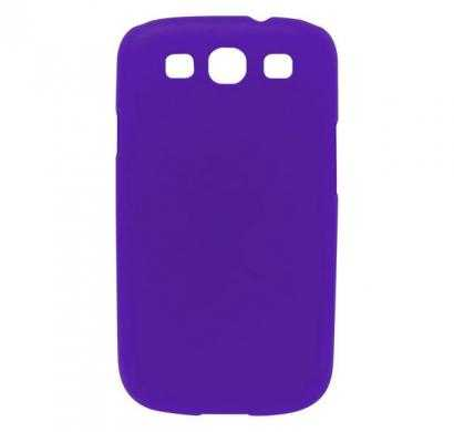 digital essentials samsung galaxy s3 back case - purple