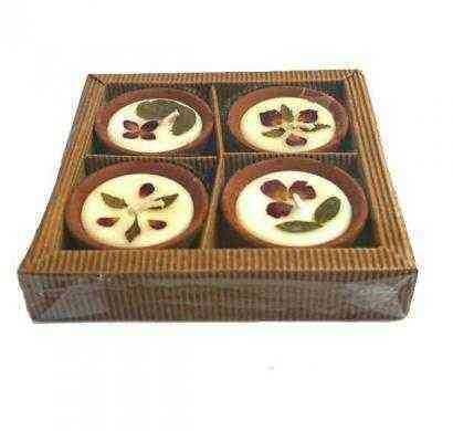 Diya Candles Pack of 4
