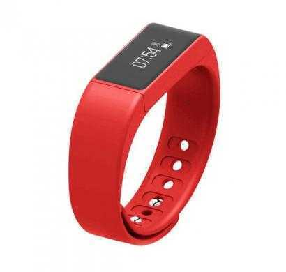 doit smartband - health band and smart watch (red)